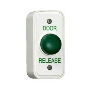 Exit_Button_Narrow_Access_Control_Green_Dome_REX100